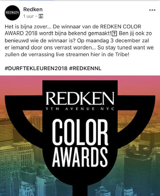>✈️WWHOEIIIII!! NEW YORK, be prepared! DEMI is coming tot visit you!✈️  🏆Zij is nr 1 van Nederland van de REDKEN color award!🏆 ze heeft een geheel verzorgde reis naar New York gewonnen! Daar gaat ze 2dagen op training bij REDKEN, en New York zelf verkennen. Hoe prachtig is deze kans! Demi je bent een topper!!🥇  Anna heeft een producten pakket gewonnen twv €200,-💰 ook jij bent een topper!