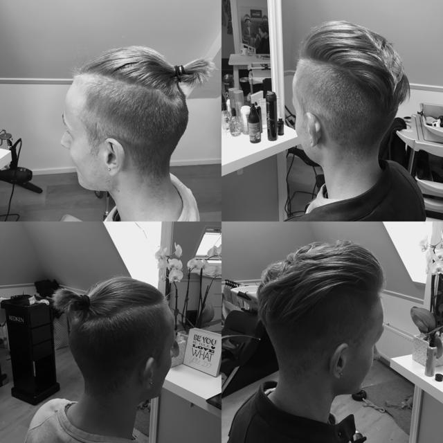 >Deze jongeman was klaar met zijn hairbun, dit staat hem ook super goed!